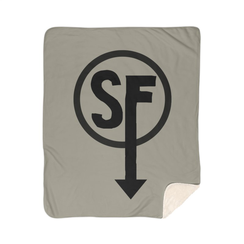 (SF) Larry's Shirt Home Sherpa Blanket Blanket by Official Sally Face Merch