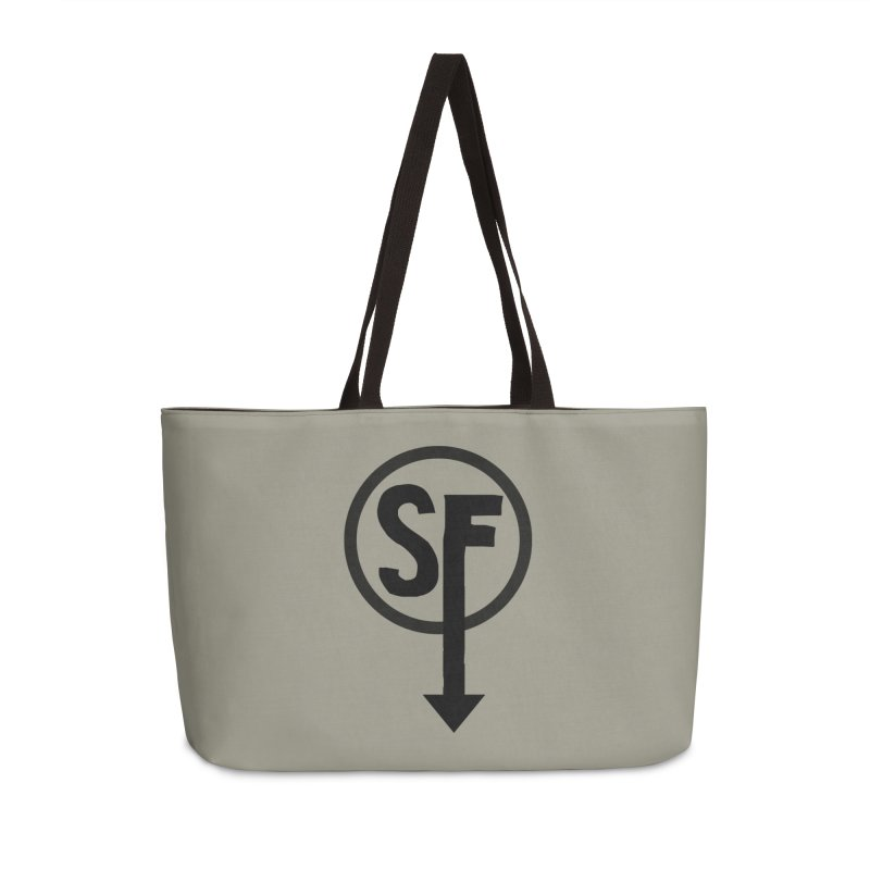 (SF) Larry's Shirt Accessories Weekender Bag Bag by Official Sally Face Merch