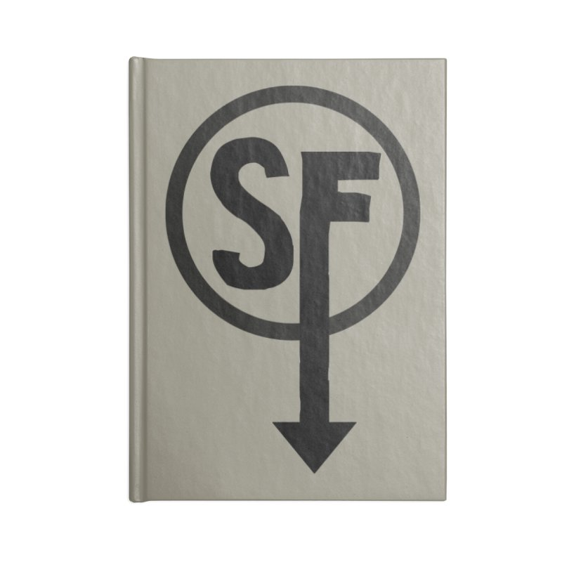 (SF) Larry's Shirt Accessories Blank Journal Notebook by Official Sally Face Merch