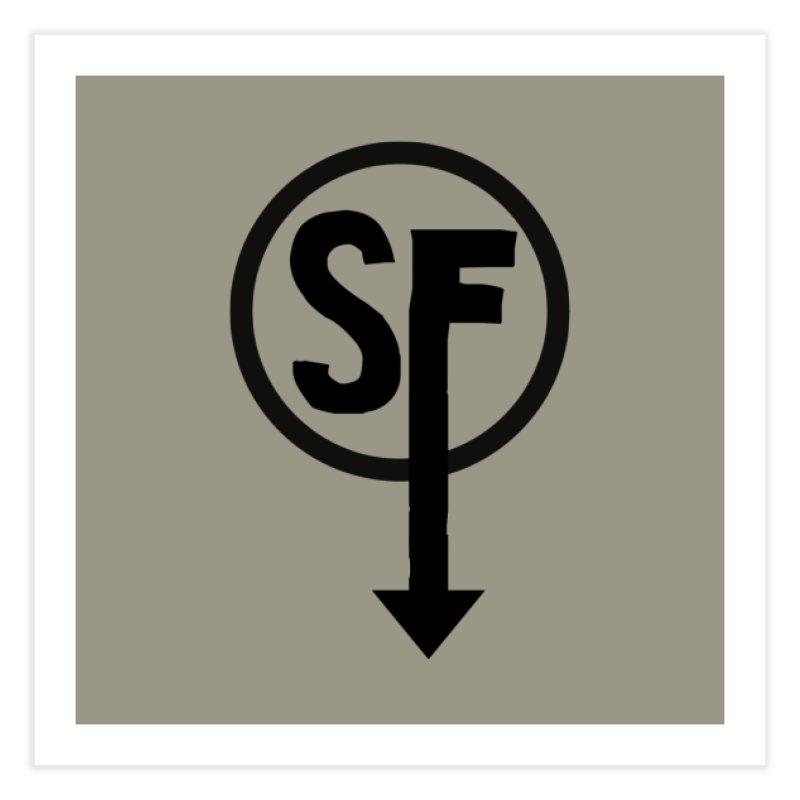 (SF) Larry's Shirt Home Fine Art Print by Official Sally Face Merch