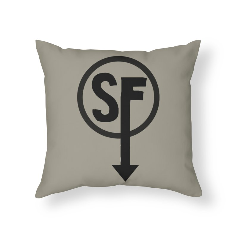 (SF) Larry's Shirt Home Throw Pillow by Official Sally Face Merch