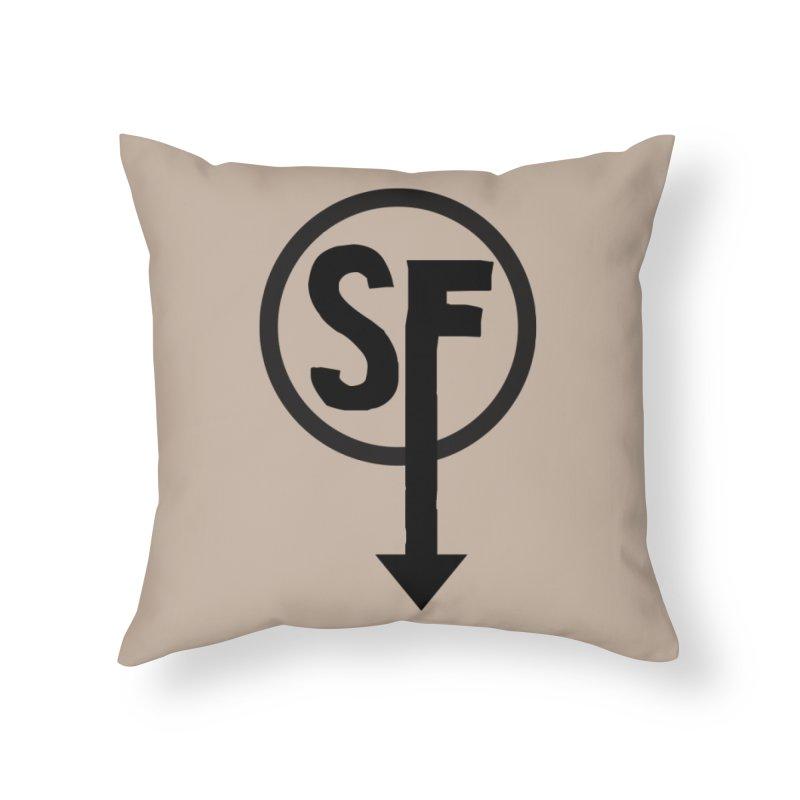 (SF) Larry's Shirt Home Throw Pillow by Official Sally Face Merch