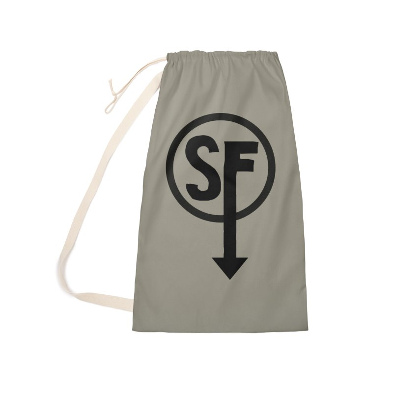 (SF) Larry's Shirt Accessories Laundry Bag Bag by Official Sally Face Merch