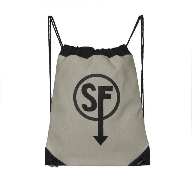 (SF) Larry's Shirt Accessories Drawstring Bag Bag by Official Sally Face Merch