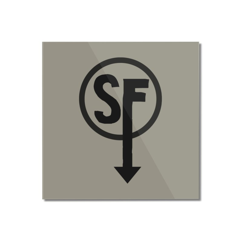 (SF) Larry's Shirt Home Mounted Acrylic Print by Official Sally Face Merch