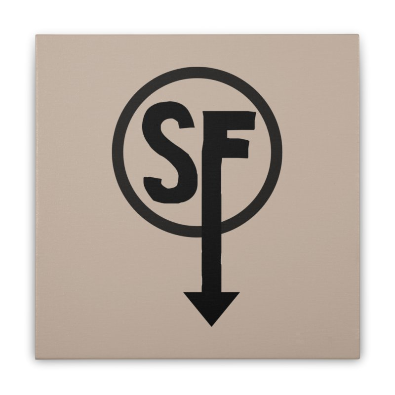 (SF) Larry's Shirt Home Stretched Canvas by Official Sally Face Merch