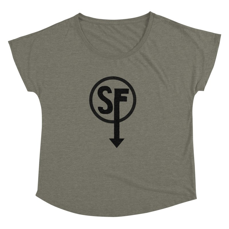 (SF) Larry's Shirt Women's Dolman Scoop Neck by Official Sally Face Merch