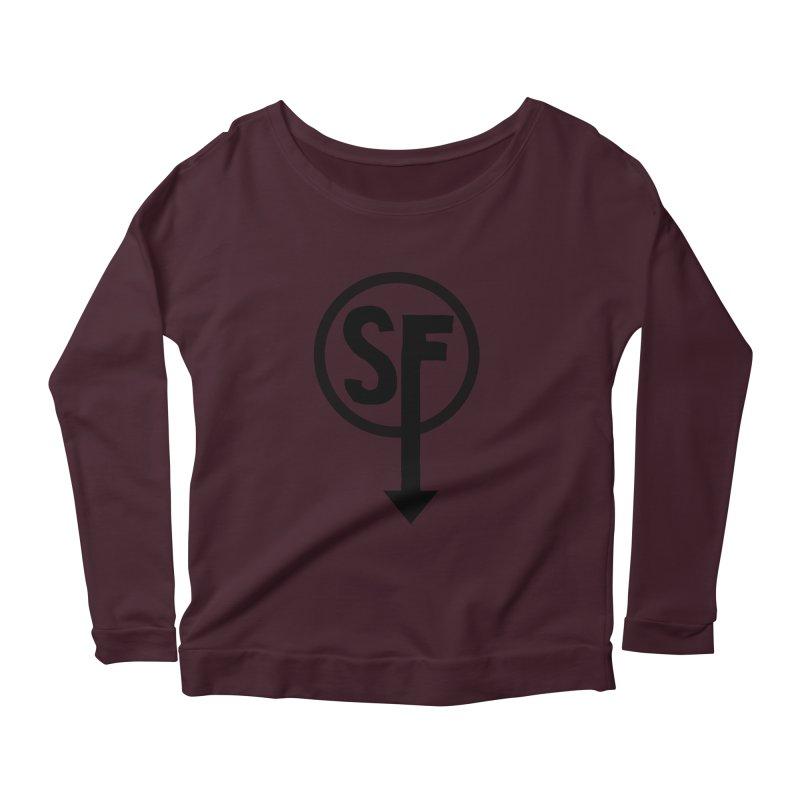 (SF) Larry's Shirt Women's Scoop Neck Longsleeve T-Shirt by Official Sally Face Merch
