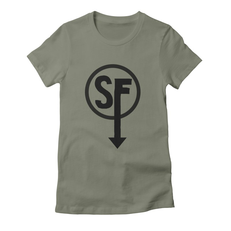 (SF) Larry's Shirt Women's Fitted T-Shirt by Official Sally Face Merch