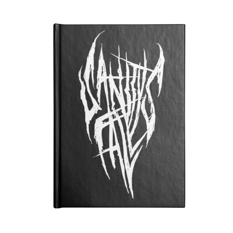 Sanitys Fall Accessories Blank Journal Notebook by Official Sally Face Merch