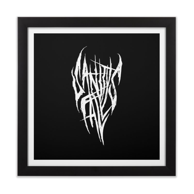 Sanitys Fall Home Framed Fine Art Print by Official Sally Face Merch