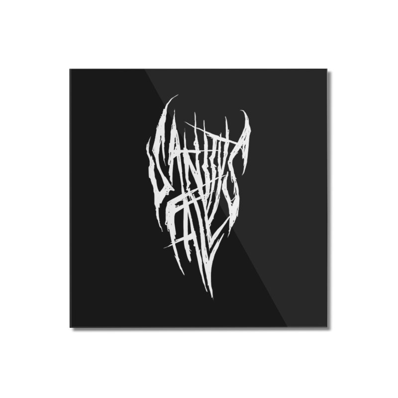 Sanitys Fall Home Mounted Acrylic Print by Official Sally Face Merch