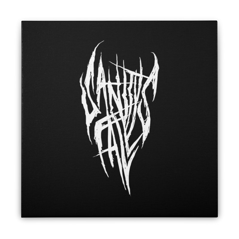 Sanitys Fall Home Stretched Canvas by Official Sally Face Merch