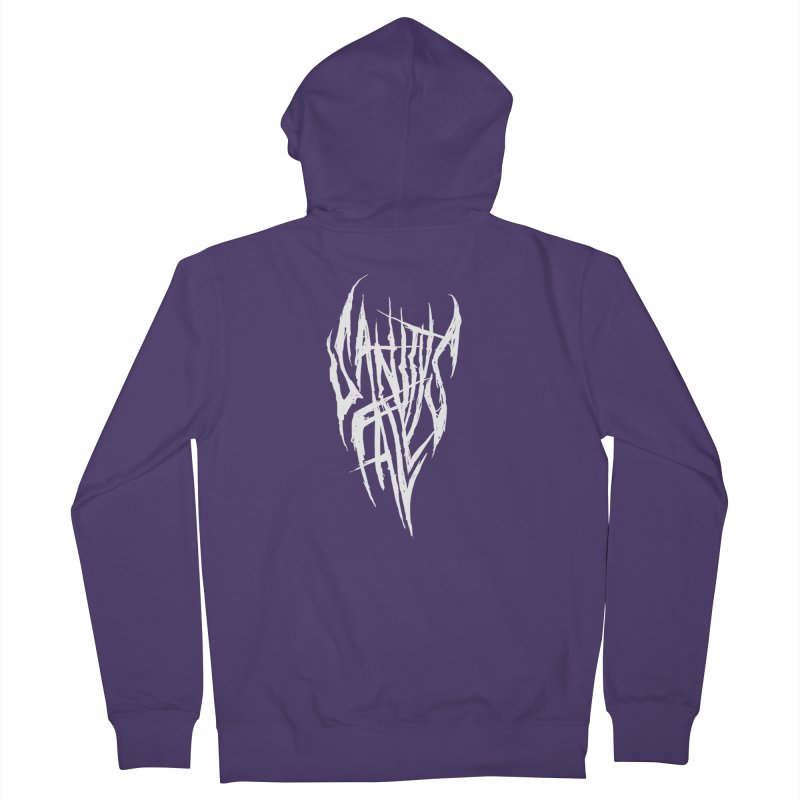 Sanitys Fall Women's French Terry Zip-Up Hoody by Official Sally Face Merch