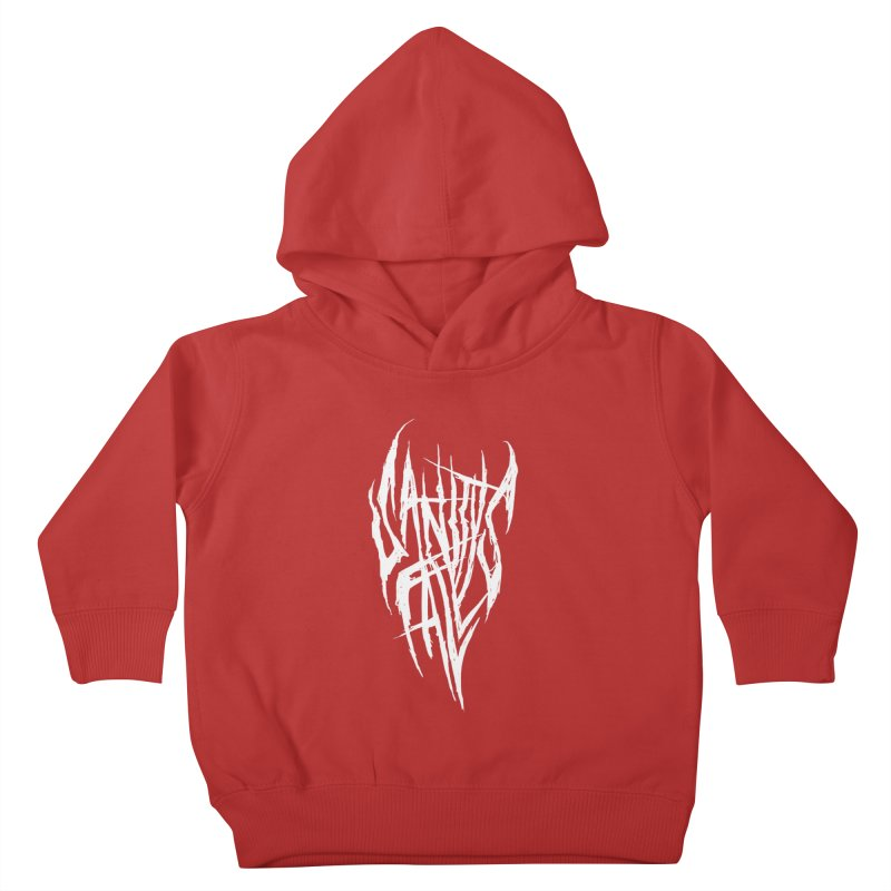 Sanitys Fall Kids Toddler Pullover Hoody by Official Sally Face Merch