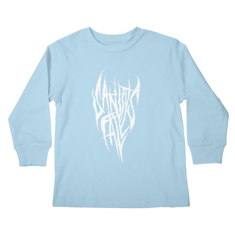 Sanitys Fall Kids Longsleeve T-Shirt by Official Sally Face Merch