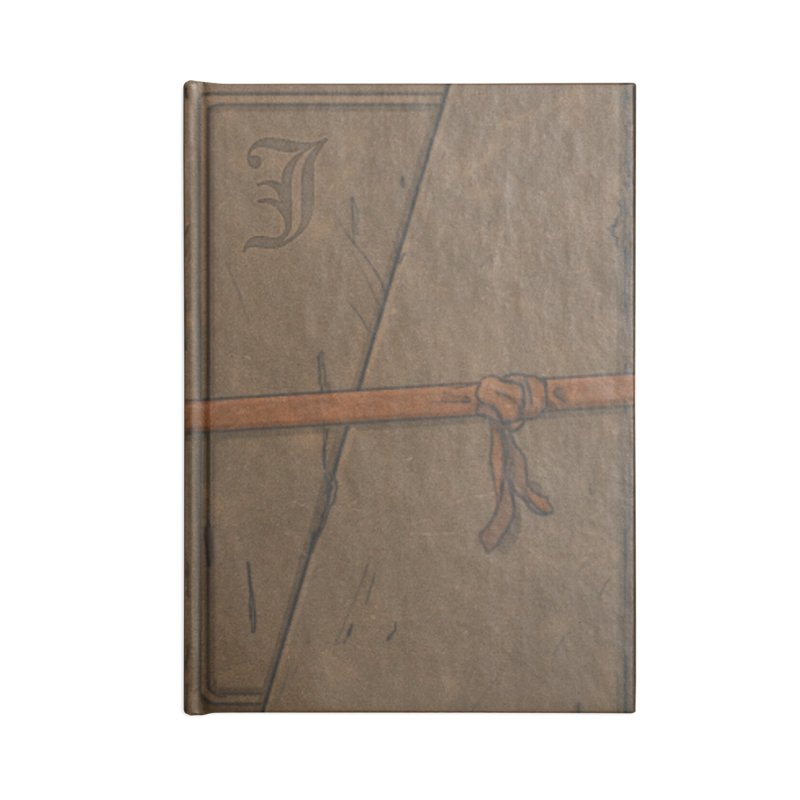 The Old Journal Accessories Blank Journal Notebook by Official Sally Face Merch