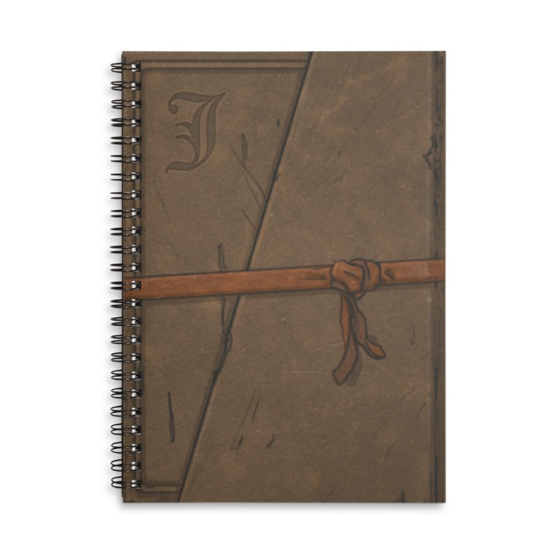 The Old Journal Accessories Lined Spiral Notebook by Official Sally Face Merch