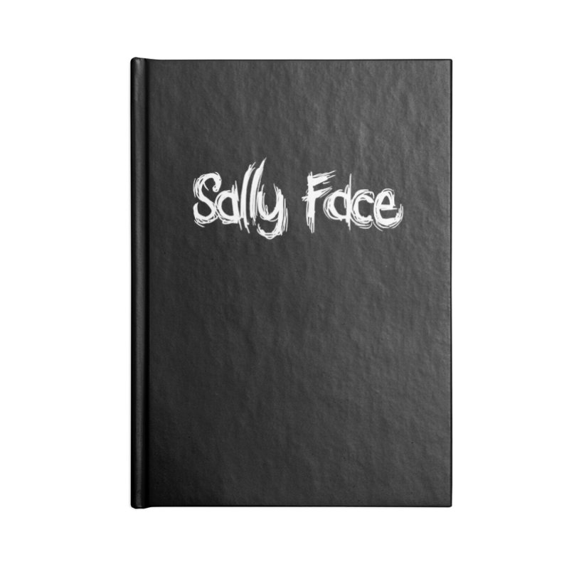 Sally Face Accessories Blank Journal Notebook by Official Sally Face Merch