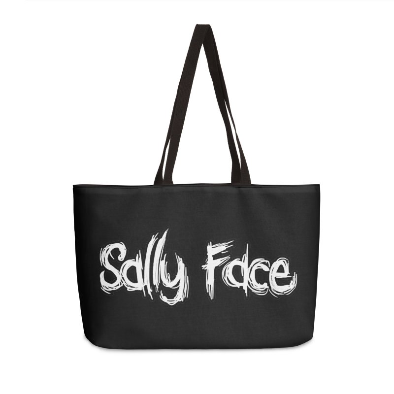 Sally Face Accessories Weekender Bag Bag by Official Sally Face Merch