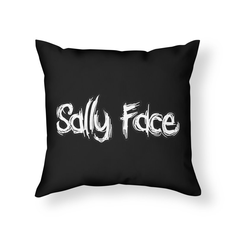 Sally Face Home Throw Pillow by Official Sally Face Merch