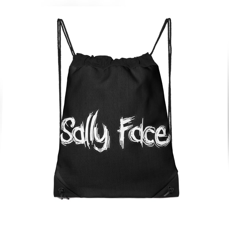 Sally Face Accessories Drawstring Bag Bag by Official Sally Face Merch