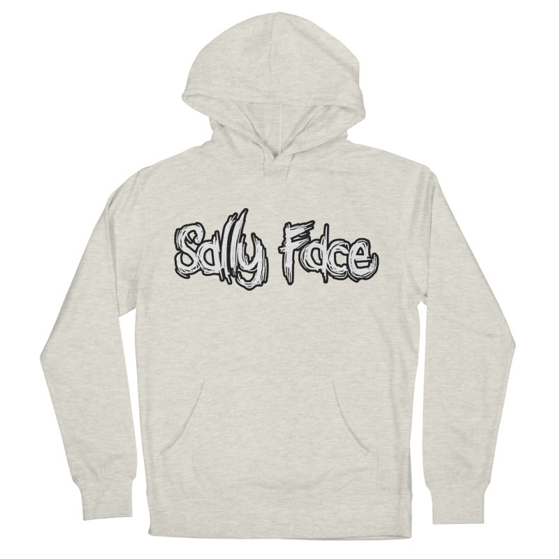 Sally Face Men's French Terry Pullover Hoody by Official Sally Face Merch