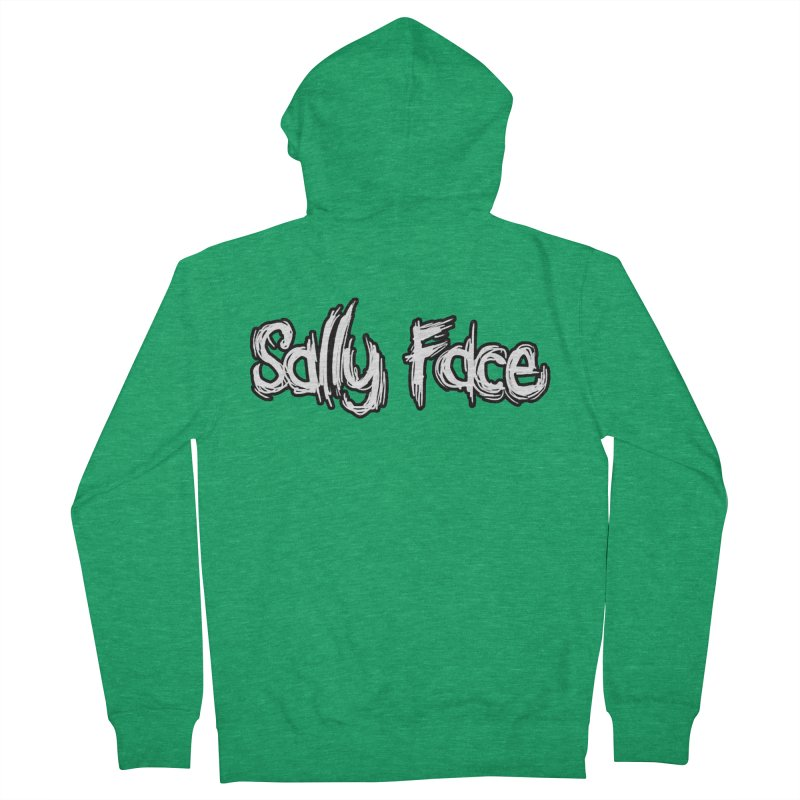 Sally Face Women's French Terry Zip-Up Hoody by Official Sally Face Merch