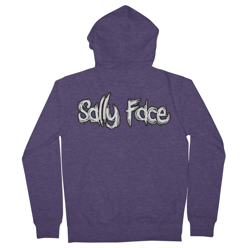 Sally Face Men's French Terry Zip-Up Hoody by Official Sally Face Merch