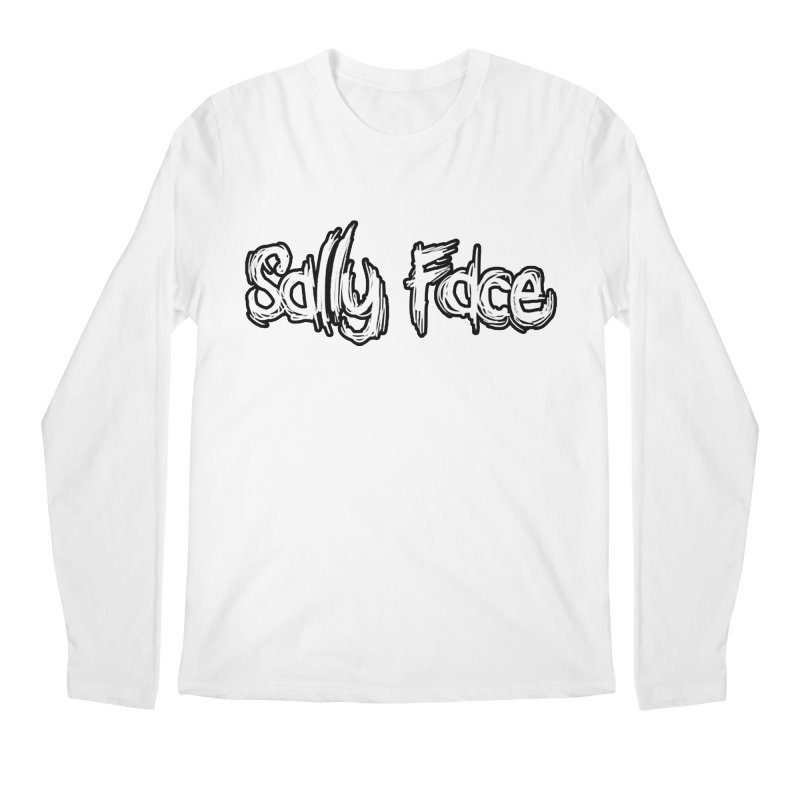 Sally Face Men's Regular Longsleeve T-Shirt by Official Sally Face Merch
