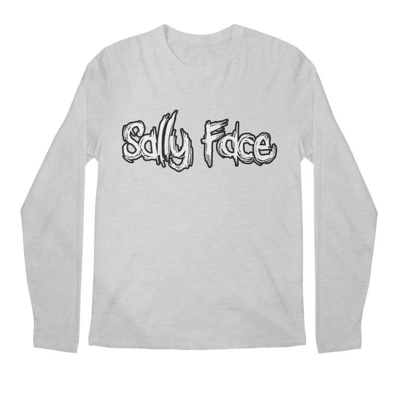 Sally Face Men's Regular Longsleeve T-Shirt by Official Sally Face Merch