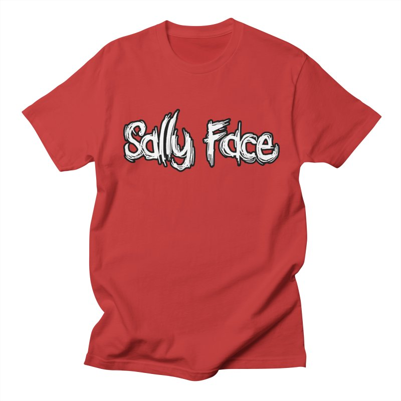 Sally Face Men's Regular T-Shirt by Official Sally Face Merch