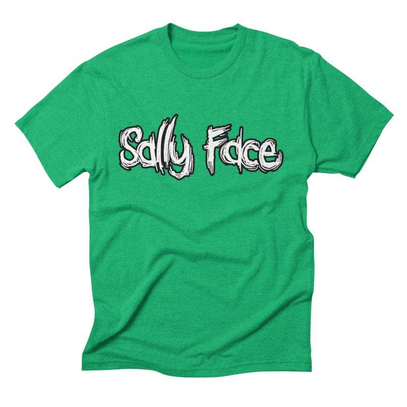 Sally Face Men's Triblend T-Shirt by Official Sally Face Merch