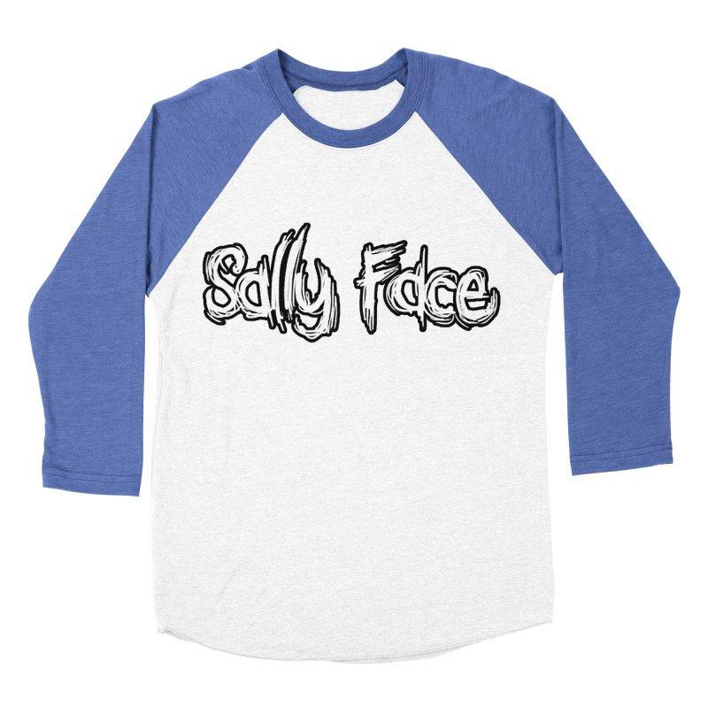 Sally Face Men's Baseball Triblend Longsleeve T-Shirt by Official Sally Face Merch