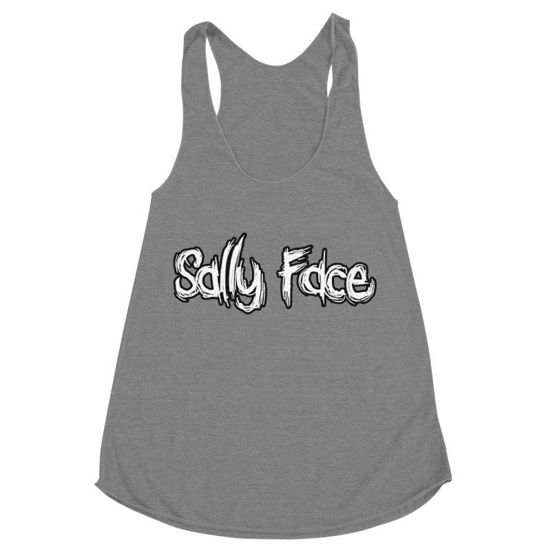 Sally Face Women's Racerback Triblend Tank by Official Sally Face Merch