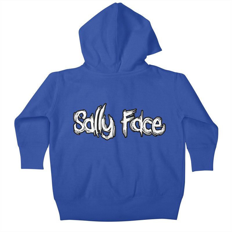 Sally Face Kids Baby Zip-Up Hoody by Official Sally Face Merch