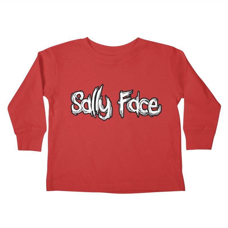 Sally Face Kids Toddler Longsleeve T-Shirt by Official Sally Face Merch