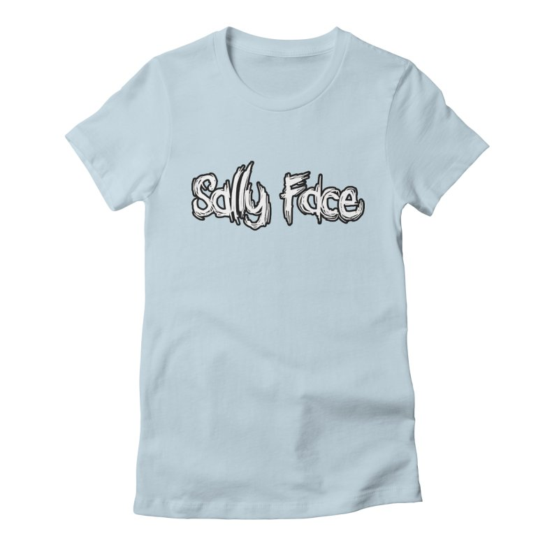 Sally Face Women's Fitted T-Shirt by Official Sally Face Merch