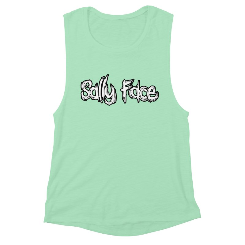 Sally Face Women's Muscle Tank by Official Sally Face Merch