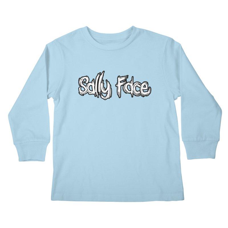 Sally Face Kids Longsleeve T-Shirt by Official Sally Face Merch