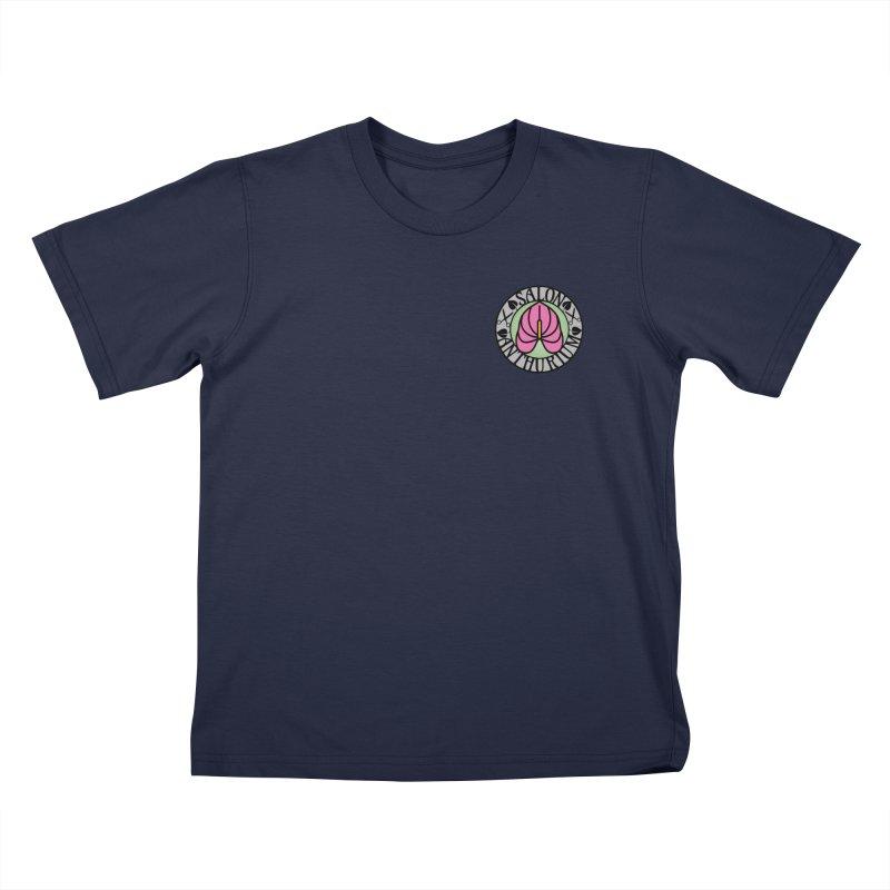 Small Logo Kids T-Shirt by salonanthurium's Artist Shop