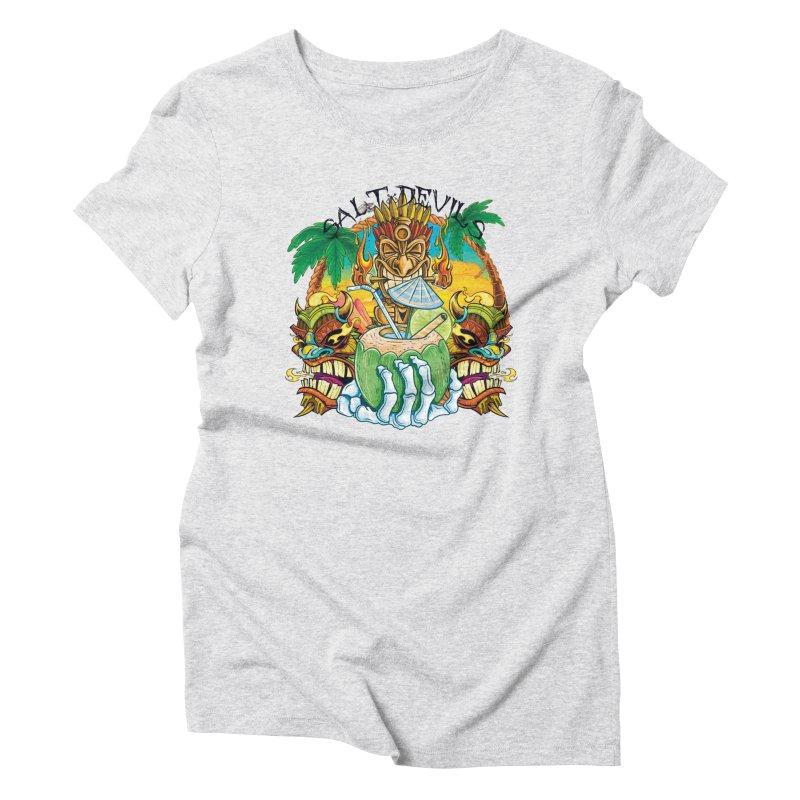 Salt Devils - Lime in the Coconut Women's T-Shirt by Salt Devils