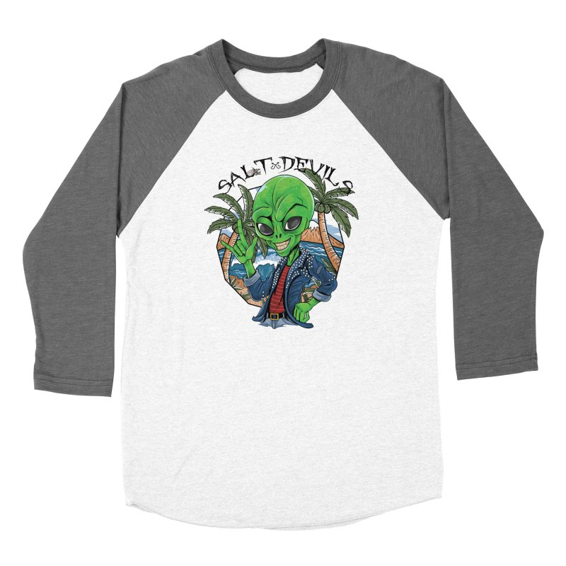 Salt Devils - Alien Vacation Women's Longsleeve T-Shirt by Salt Devils