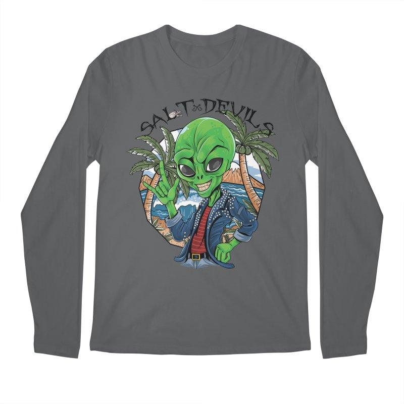 Salt Devils - Alien Vacation Men's Longsleeve T-Shirt by Salt Devils
