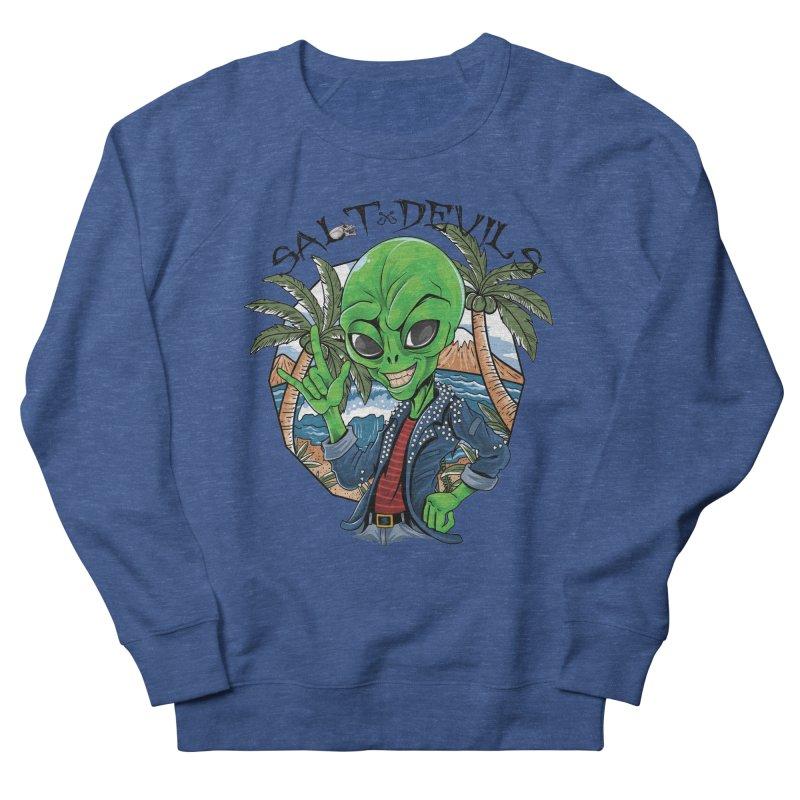 Salt Devils - Alien Vacation Men's Sweatshirt by Salt Devils