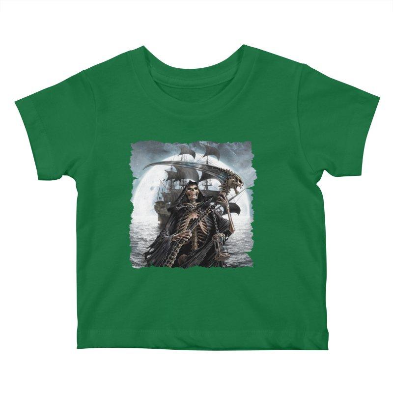 Salt Devils - The Reaper Kids Baby T-Shirt by Salt Devils