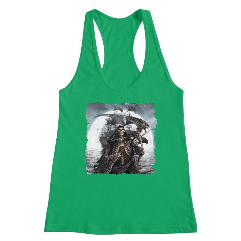 Salt Devils - The Reaper Women's Tank by Salt Devils