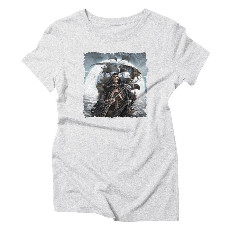 Salt Devils - The Reaper Women's T-Shirt by Salt Devils