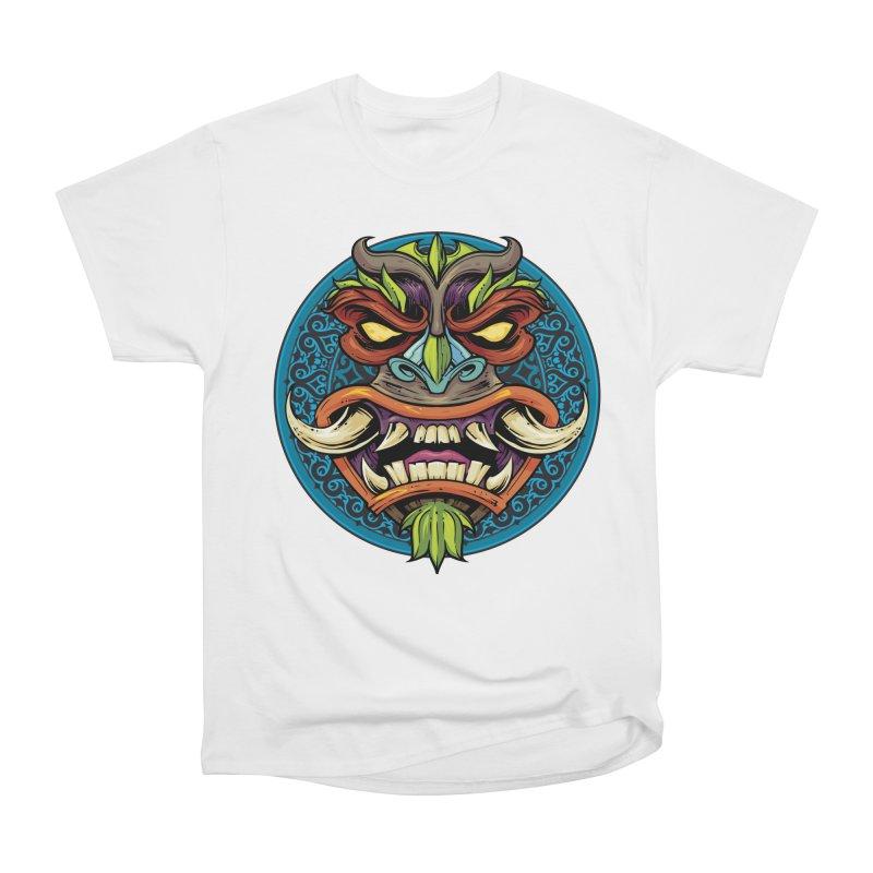 Salt Devils - Tiki Horn Women's T-Shirt by Salt Devils
