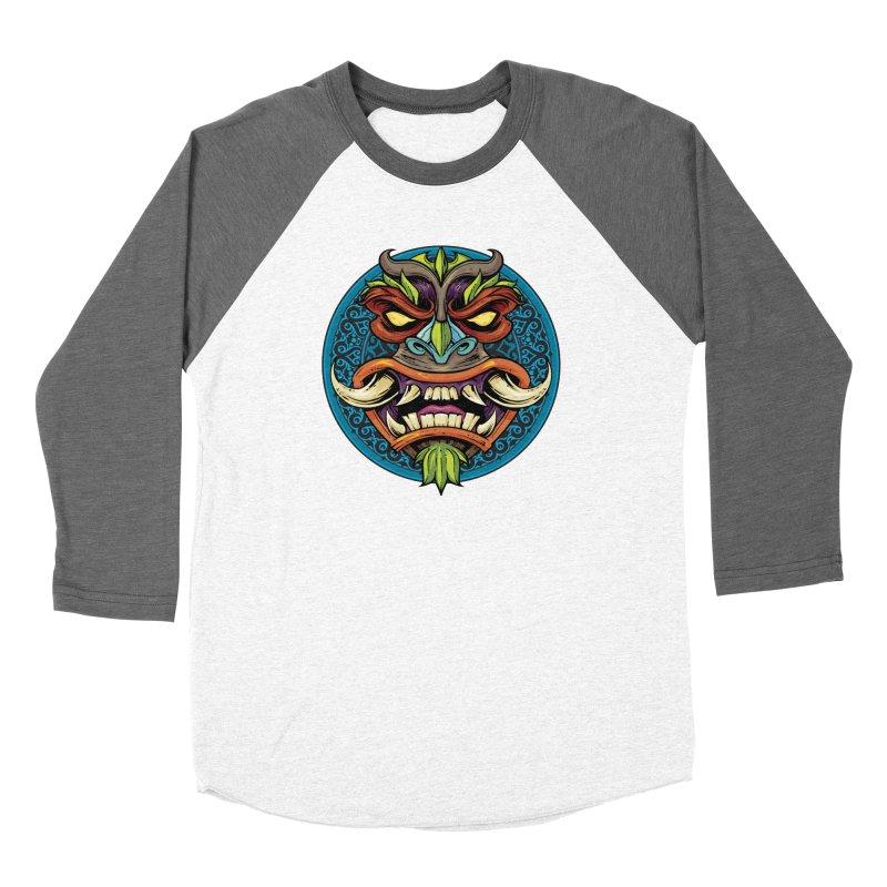 Salt Devils - Tiki Horn Women's Longsleeve T-Shirt by Salt Devils